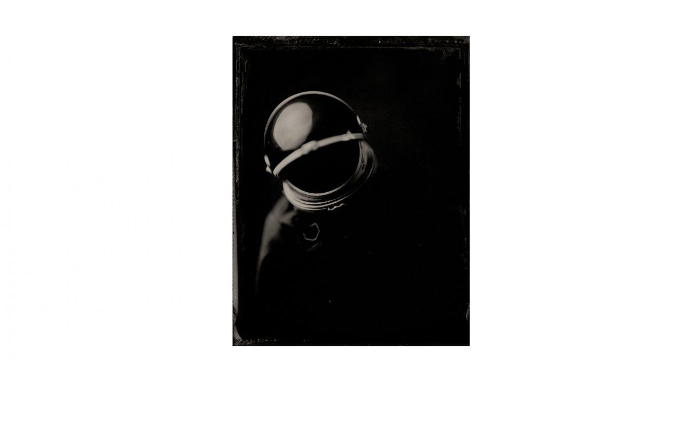 Portrait of Dead Cosmonaut floating